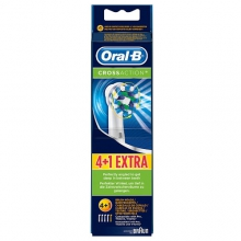 OralB CrossAction 4+1-pack